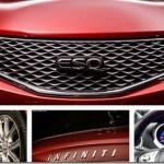 Teasers revelam o Infiniti ESQ, um Nissan Juke de luxo para o mercado chinês