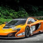 Pronto para as pistas, McLaren 650S GT3 aparece em Goodwood