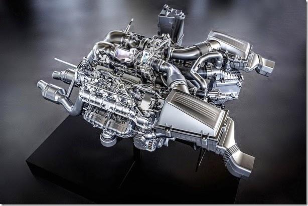 Mercedes lança novo V8 para a linha AMG