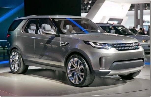 Land Rover Discovery Sport chegará ao Brasil em 2015