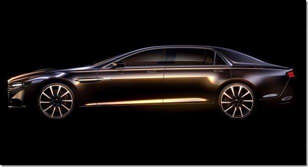 Aston Martin divulga teaser do novo Lagonda