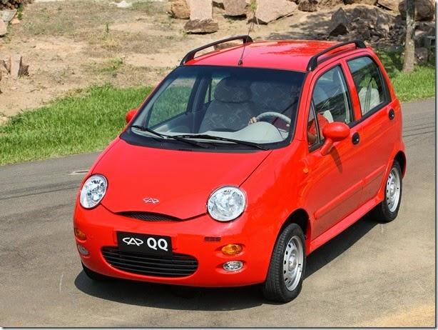 Chery QQ ganha opção de motor 1.0 de três cilindros