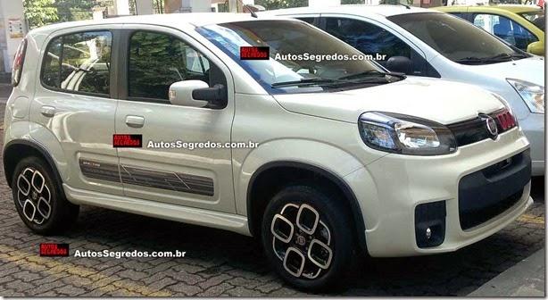 Fiat Uno 2015 será o primeiro nacional com start-stop