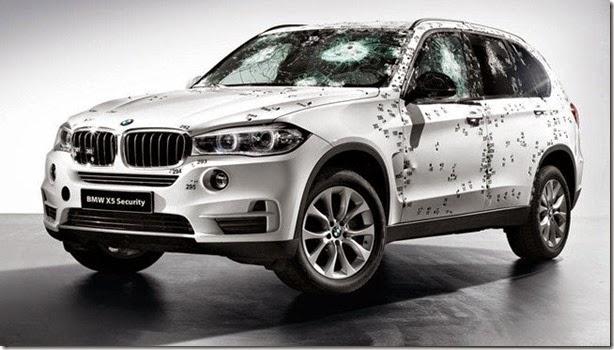 Blindado, BMW X5 Security Plus será mostrado na Rússia