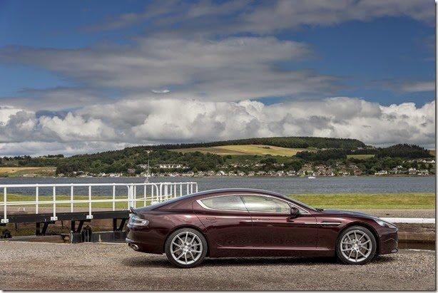 Aston Martin Vanquish e Rapide são atualizados