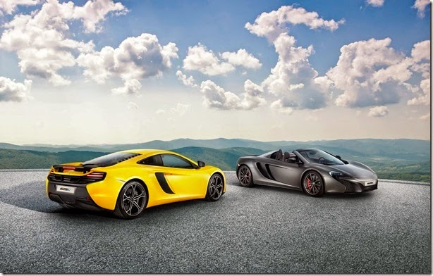 McLaren 625C é exclusivo para o mercado asiático