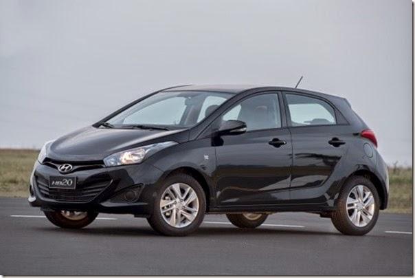 """Hyundai HB20 ganha série especial """"For You"""""""