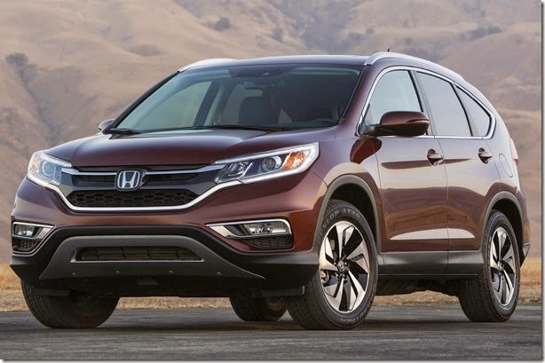 Primeira imagem do Honda CR-V 2015