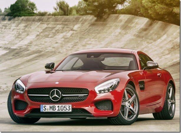 Este é o novo Mercedes AMG GT