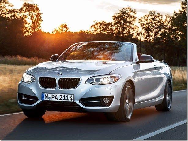 BMW apresenta o novo Série 2 Cabrio
