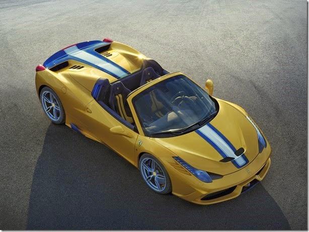 Esta é a nova Ferrari 458 Speciale A
