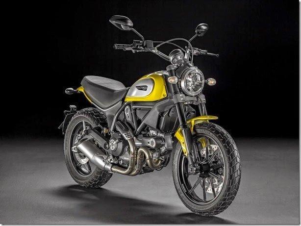 Ducati Scrambler é apresentada no Salão de Colônia