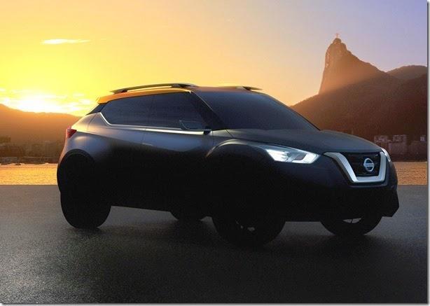 Nissan divulga nova imagem de conceito de SUV que estará no Salão do Automóvel