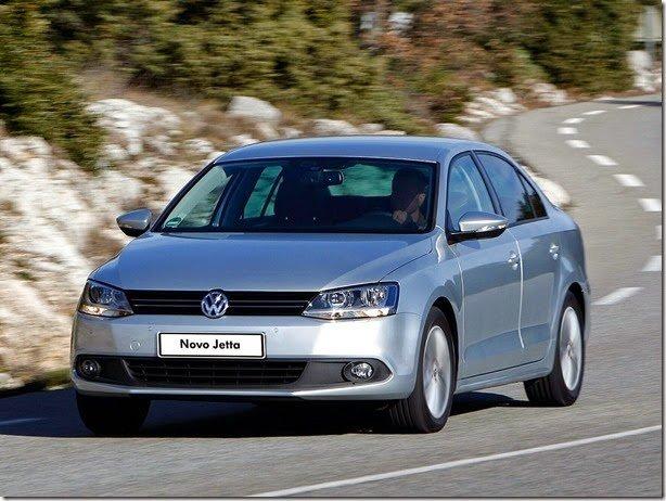 Volkswagen Jetta tem 31.894 unidades em recall
