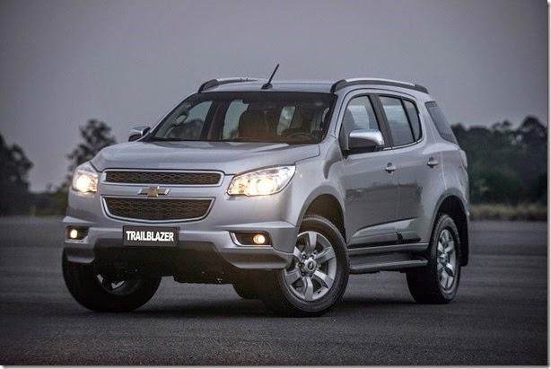 Chevrolet Trailblazer 2015 tem novo motor com injeção direta
