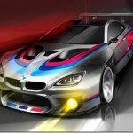 BMW divulga desenhos do novo M6 GT3