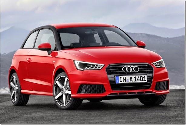 Audi A1 passa por facelift e ganha motor 1.0