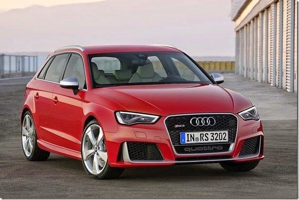 Novo Audi RS3 tem motor 2.5 de 367cv