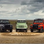 Land Rover Defender ganha séries de despedida