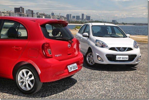 Nissan March ganha motor 1.0 de três cilindros e parte dos R$ 35.990