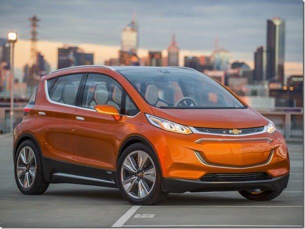 Chevrolet Bolt dá pistas de futuro hatch elétrico