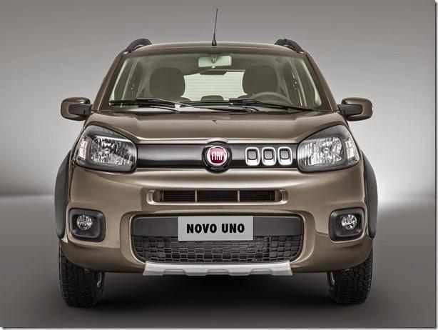 Novos Fiat Uno e Palio ficam mais completos de série