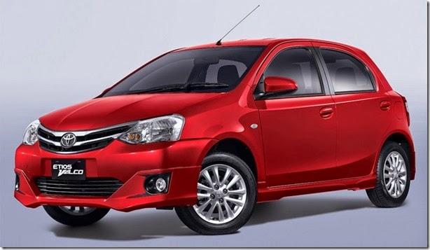 Toyota Etios ganha grade nova na Ásia