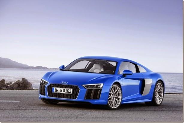Este é o novo Audi R8