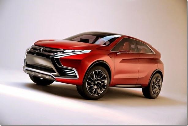 Mitsubishi mostra o futuro do ASX com o conceito XR-PHEV II