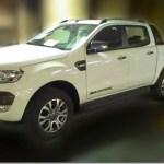 Nova Ford Ranger é flagrada pronta na Tailândia