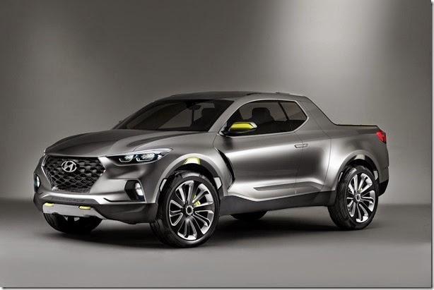 Hyundai está trabalhando em uma picape