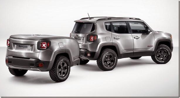 Jeep mostrará Renegade com reboque em Genebra