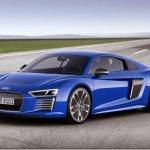 Audi mostra R8 e-Tron e sua versão de competição elétrica