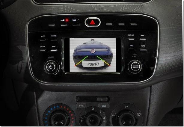 Fiat Punto e Linea 2016 recebem central multimídia de série