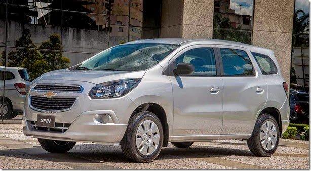 Chevrolet Spin 2016 tem novidades que estrearam na versão Activ