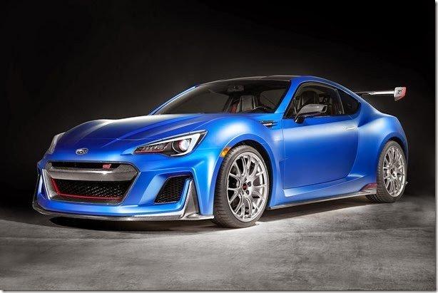 Subaru BRZ STi é mostrado ainda na forma de conceito