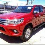 Nova Toyota Hilux começa a chegar aos concessionários tailandeses