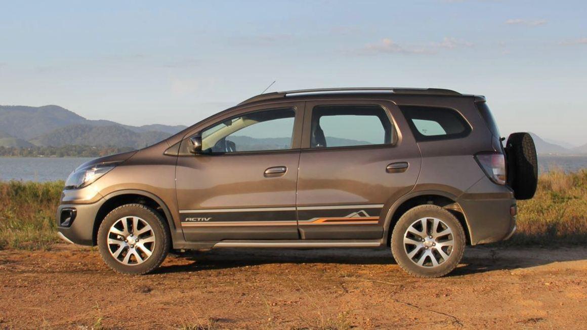 Avaliação – Chevrolet Spin Activ tenta convencer pelo visual aventureiro