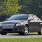 Chevrolet Malibu é chamado para recall por falhas nos cintos de segurança