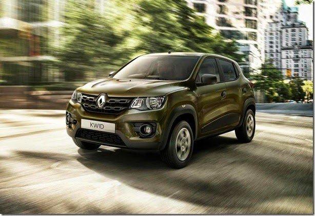 Renault Kwid é apresentado oficialmente