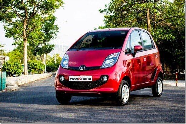 Tata Nano GenX ganha novo visual e transmissão automatizada