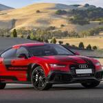 Audi RS7 autônomo evolui e perde 400kg