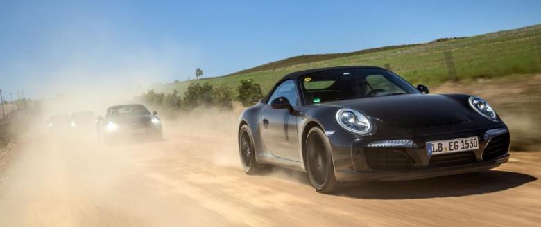 Porsche 911 Carrera adotará novo motor 3.0 turbo de seis cilindros