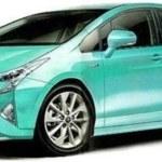 Com estreia marcada, novo Prius é flagrado sem camuflagem
