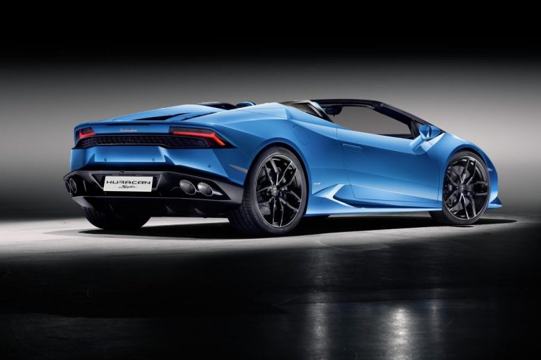 "Lamborghini Huracan ganha versão ""sem teto"" Spyder"