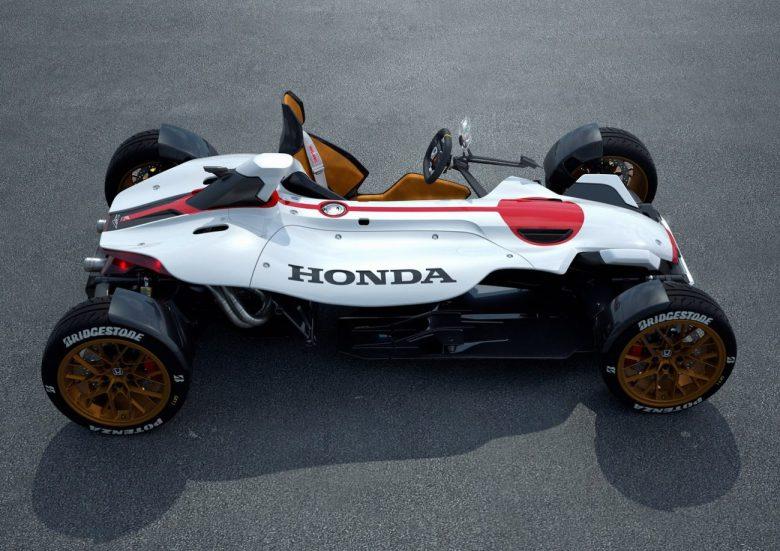 Honda 2&4 tem motor da Moto GP que gira a 13.000rpm