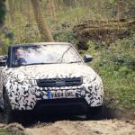Range Rover Evoque Cabrio passa pelos últimos testes de desenvolvimento