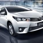 Toyota reajusta os preços da linha Corolla