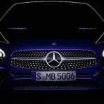 Novo Mercedes SL tem primeira imagem revelada