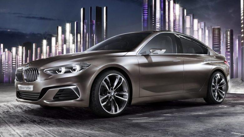 BMW Compact Sedan – Conceito antecipa o Série 1 Sedan